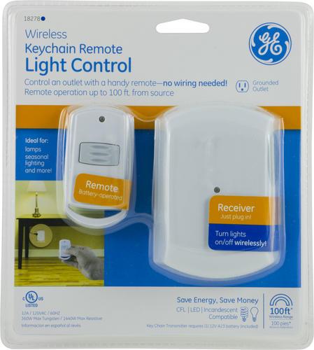 Ge Wireless Keychain Remote Light Control At Menards