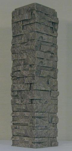 Designer S Image Polyurethane Faux Stone Siding Outside Corner 2 Lin Ft At Menards