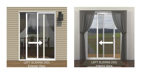Jeld Wen Builders Series Vinyl Sliding Patio Door With Internal