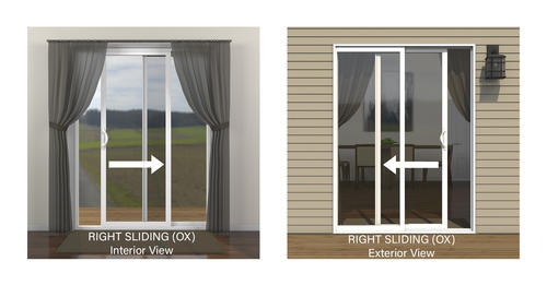 Jeld Wen Builders Series Vinyl Sliding Patio Door With Internal