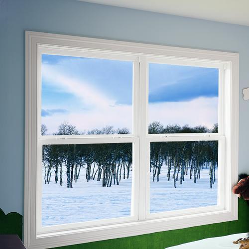 """JELD-WEN® Builders Series 72"""" White Vinyl Window Mull Kit"""