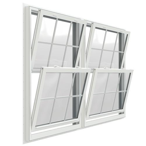 Jeld Wen Premium Series Vinyl Double Hung Window With Nailing Flange