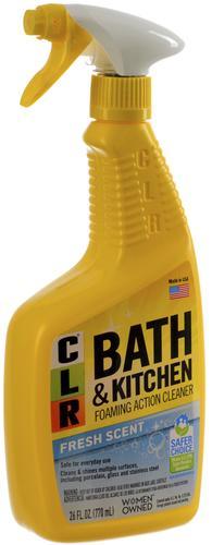 CLR® Fresh Scent Bath & Kitchen Cleaner - 26 oz. at Menards® on kohler kitchen and bath, ge kitchen and bath, lysol kitchen and bath, case kitchen and bath,