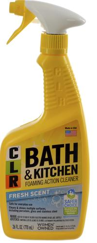CLR® Fresh Scent Bath & Kitchen Cleaner - 26 oz. at Menards® on case kitchen and bath, lysol kitchen and bath, ge kitchen and bath, kohler kitchen and bath,