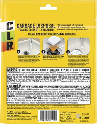 CLR® Garbage Disposal Foaming Cleaner and Freshener 5 ct  at