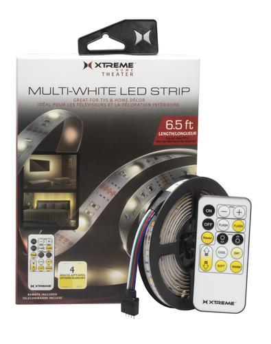 Xtreme Multi White Usb Powered Led Tape Mood Light For Tv At Menards 174