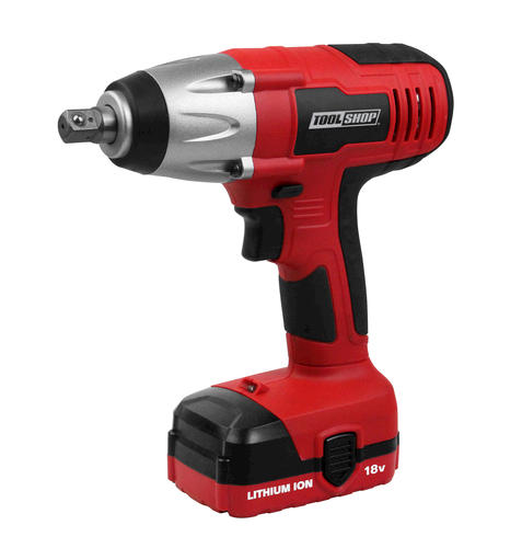 Tool 18 Volt Lithium Ion Cordless 1 2 Impact Wrench