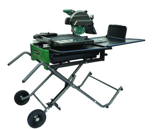 Masterforce 10 Wet Tile Saw With Stand At Menards