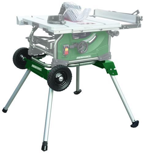 Masterforce 174 Folding Table Saw Stand With Wheels At Menards 174