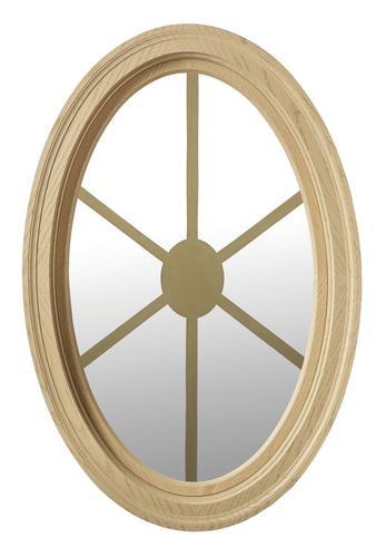 Jjj Specialty Unfinished Poly 20 14 X 31 34 Oval Window