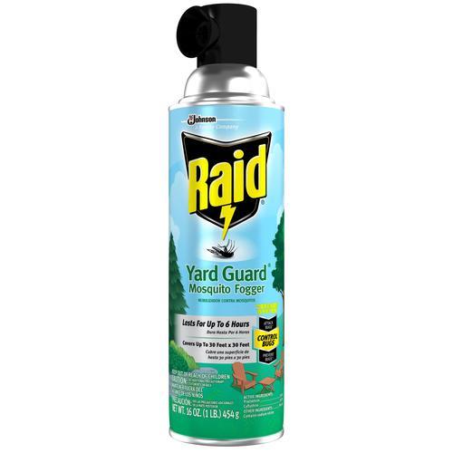 Raid Yard Guard Outdoor Insect Killer Repellent Fogger 16 Oz