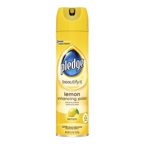 Pledge Lemon Clean Furniture Spray 9 7 Oz