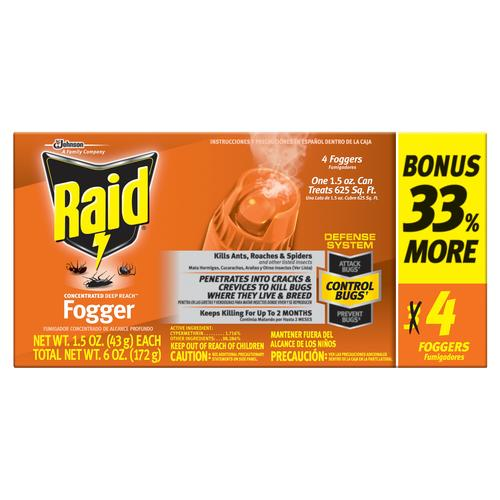 sc 1 st  Menards & Raid® Concentrated Deep Reach Fogger - 3 Pack at Menards®