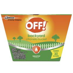 OFF!® Citronella Bucket Candle Insect Repellent - 19 oz  at Menards®