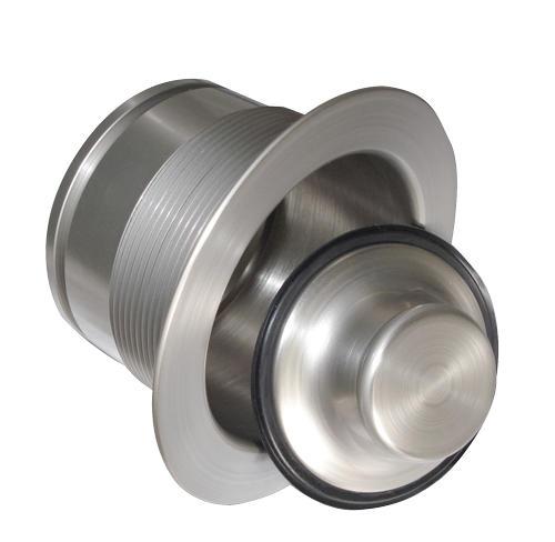 Scrappy Custom Color Brass Sink Flange//Stopper Set Mr Stainess Steel Brushed Nickel