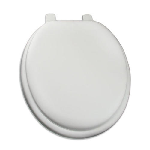 Comfort Seat Deluxe Round White Soft Seat Toilet Seat At