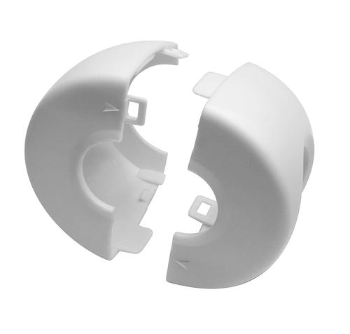 Jool™ White Door Knob Covers   4 Count