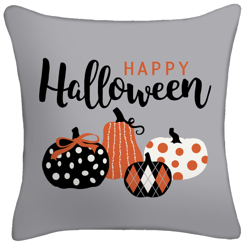 Pumpkin Hollow 16 Harvest And Halloween Decorative Pillows Assorted Styles At Menards