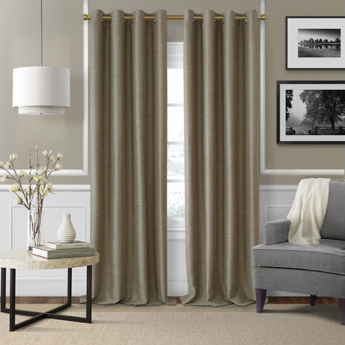 "Elrene Home Fashions 86"" - 120"" Serena Decorative Curtain Rod - Soft Gold"