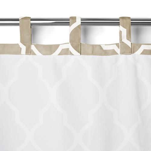 Elrene Home Fashions Corado Indoor Outdoor Velcro Tab Top