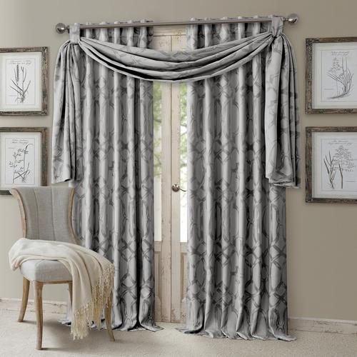 Elrene Home Fashions Darla Back Tab Blackout Window Panel 52W X 108L At MenardsR