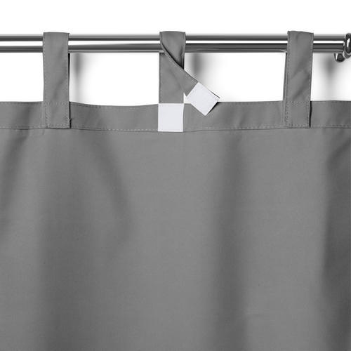 """Elrene Home Fashions Matine Indoor/Outdoor Tab Top Curtain Panel 52""""W x 108""""L"""