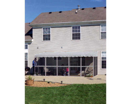 Model Number 99122 Menards ® SKU 4331380  sc 1 st  Menards & Patio-Mate™ Screened Enclosure 7u0027 8