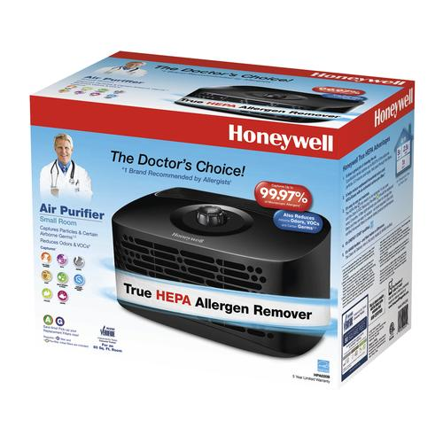 honeywell true hepa tabletop 80 sq.ft. air purifier at menards®