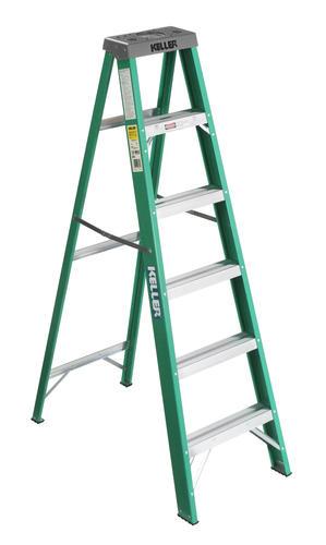 Keller Type Ii Fiberglass Step Ladder 225 Lb Max At Menards