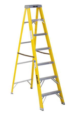 Keller Type I Fiberglass Step Ladder 250 Lb Max At Menards