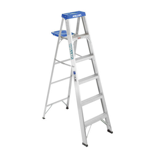 Keller Type I Aluminum Step Ladder 250 Lb Max At Menards