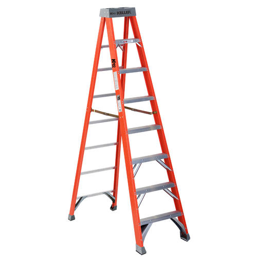 Keller Kpro Type Ia Fiberglass Step Ladder 300 Lb Max At Menards