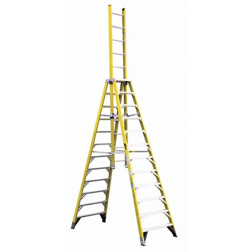 Keller Type Ia Fiberglass Extension Trestle Ladder 300 Lb Max At Menards