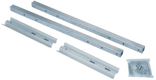 Keller® ERT-W End rail and end toe board assembly - wide