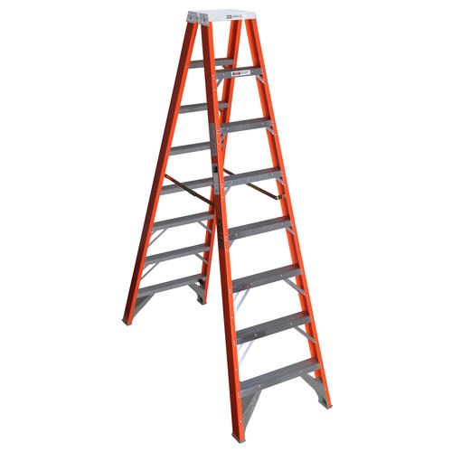 Keller Type Ia Fiberglass Twin Step Ladder 300 Lb Max At Menards