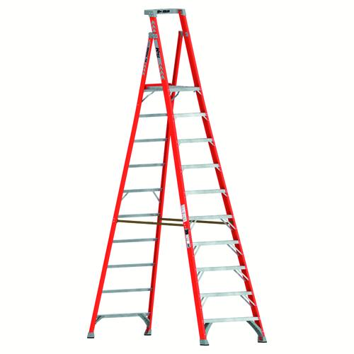 Keller Kpro Type Ia Fiberglass Podium Ladder 300 Lb Max At Menards