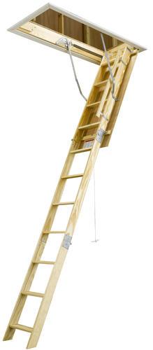 Keller 10 H Type I Wood Attic Ladder 250 Lb Max At Menards