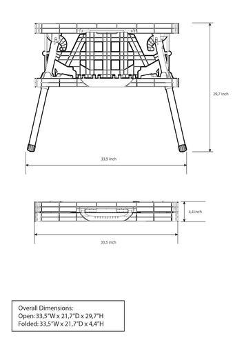 Folding Work Table At Menards 174