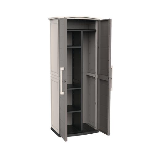 keter boston tall garden shed at menards