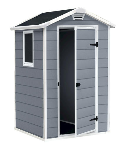 keter manor 4 x 3 shed at menards