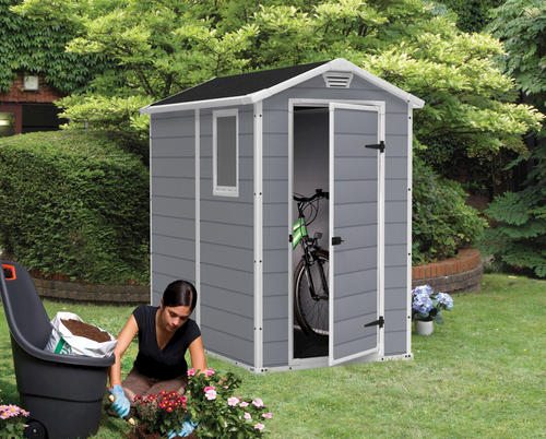 keter manor 4 x 6 shed at menards - Garden Sheds Menards
