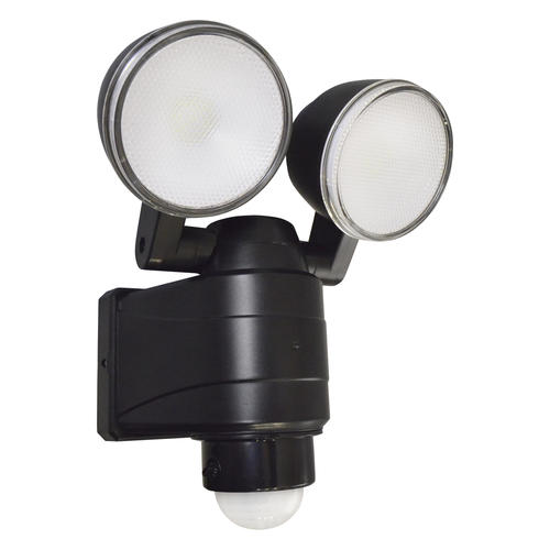 Patriot Lighting® Integrated LED Dual Head Battery Powered