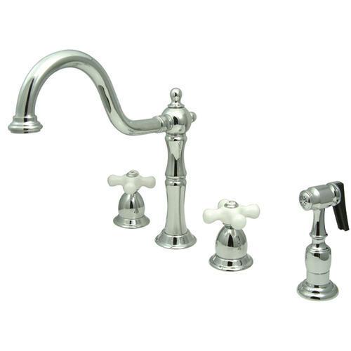 Polished Chrome Kitchen Faucet