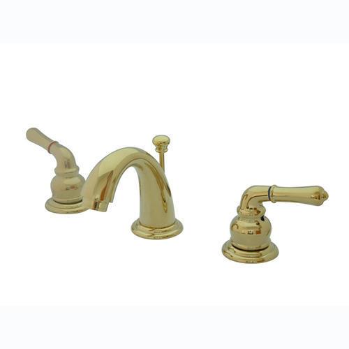 Kingston Brass Magellan TwoHandle Minispread Bathroom Faucet - 4 inch minispread bathroom faucet