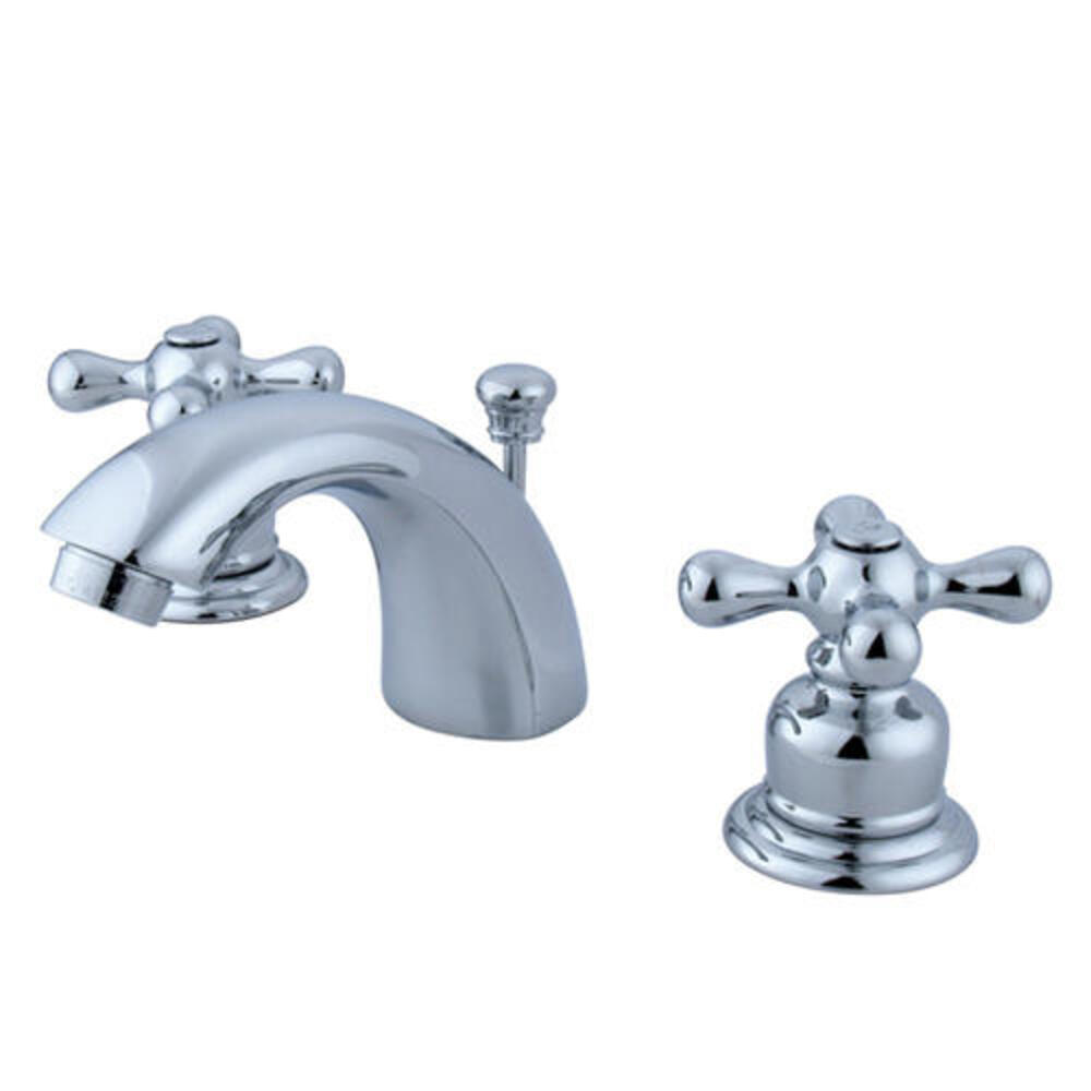 Kingston Brass Victorian Two Handle 4 Minispread Polished Chrome Bathroom Faucet At Menards