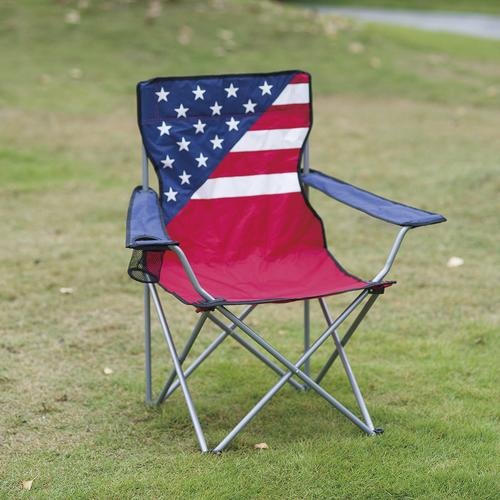 Guidesman 174 Patriotic Folding Quad Patio Chair At Menards 174