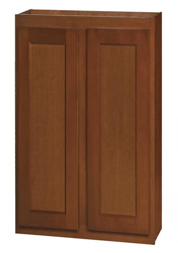 "Kitchen Kompact Glenwood 27 x 36"" Beech Wall Cabinet at ..."