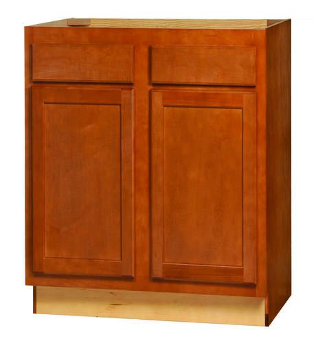 kitchen kompact bretwood 30 x 34 5 maple base cabinet at menards