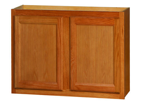"""Kitchen Kompact Chadwood 30"""" x 21"""" Oak Wall Cabinet at ..."""
