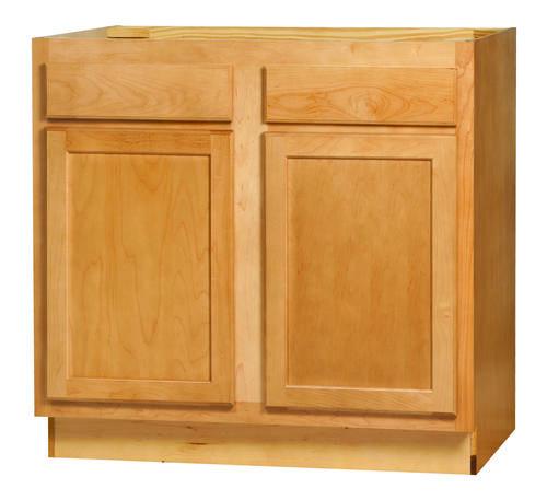 "Kitchen Kompact Mellowood 36"" x 34.5"" Maple Base Cabinet ..."